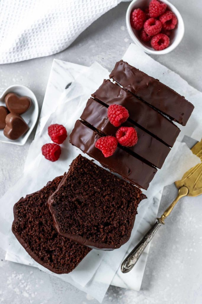 Schokoladiges Bananenbrot  mit gesunden Zutaten zubereitet, Vickys Healthy Dreams