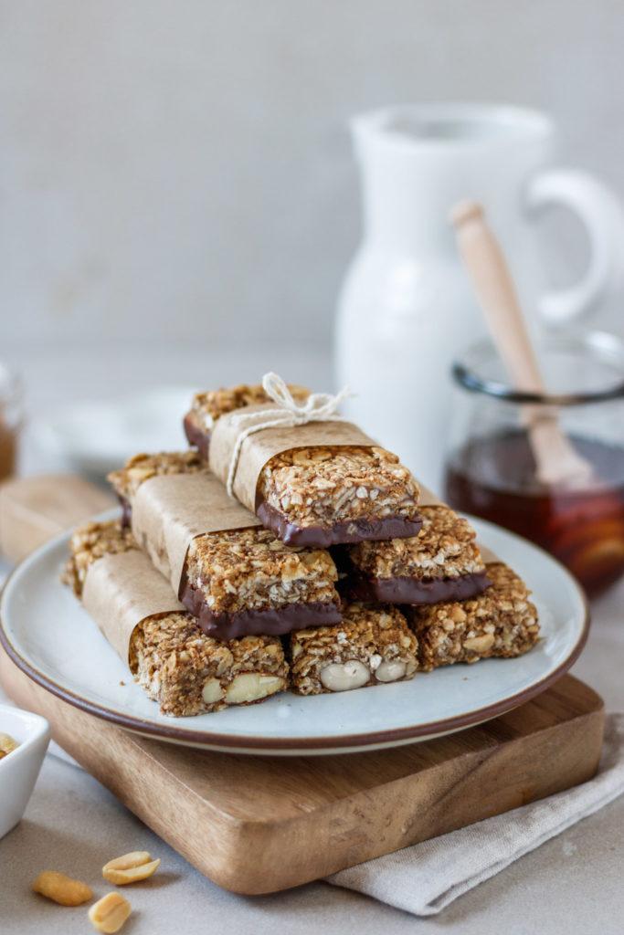 Unglaublich köstliche Müsliriegel mit gesunden Zutaten, Vickys Healthy Dreams