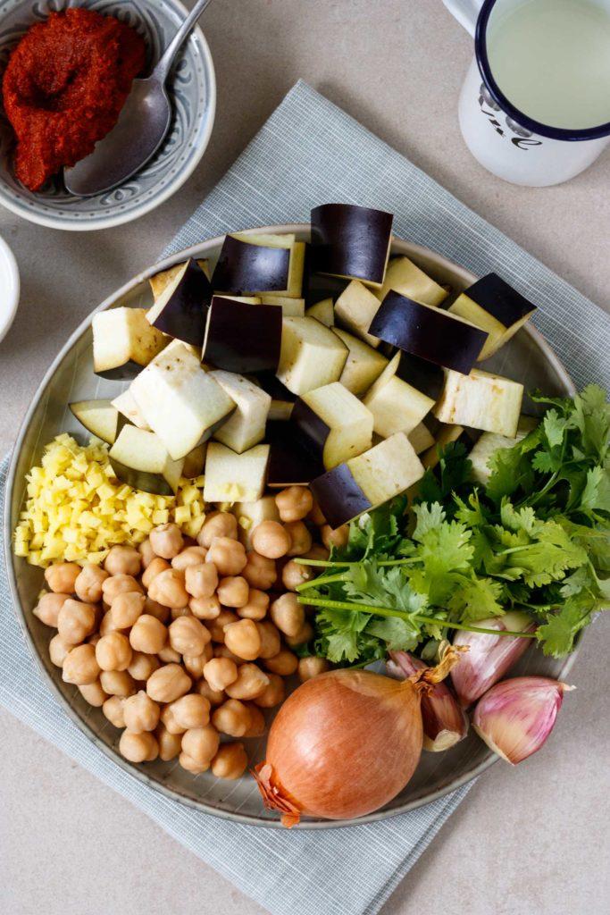 Gesunde Zutaten, frische Kräuter und Gewürze, Vickys Healthy Dreams