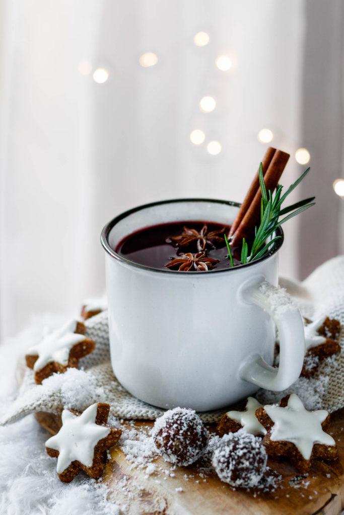Weihnachtlichen Punsch selber machen, Vickys Healthy Dreams